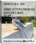 ARMY LETTERS FROM AN OFFICER'S WIFE,