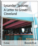 A Letter to Grover Cleveland
