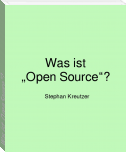 "Was ist ""Open Source""?"