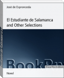El Estudiante de Salamanca and Other Selections
