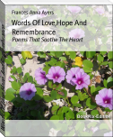 Words Of Love,Hope And Remembrance