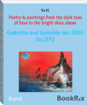 Poetry & paintings from the dark seas of blue to the bright skies above