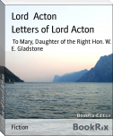 Letters of Lord Acton