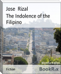 The Indolence of the Filipino