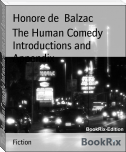 The Human Comedy Introductions and Appendix