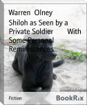 Shiloh as Seen by a Private Soldier        With Some Personal Reminiscences
