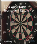 BDO World Darts Tournament Results