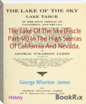 The Lake Of The Sky (Fiscle Part-Vi) In The High Sierras Of California And Nevada.