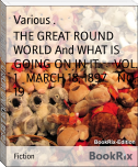 THE GREAT ROUND WORLD And WHAT IS GOING ON IN IT.     VOL. 1   MARCH 18, 1897.   NO. 19