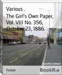 The Girl's Own Paper, Vol. VIII No. 356, October 23, 1886.