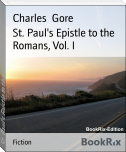 St. Paul's Epistle to the Romans, Vol. I