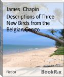 Descriptions of Three New Birds from the Belgian Congo