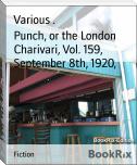 Punch, or the London Charivari, Vol. 159, September 8th, 1920,