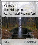 The Philippine Agricultural Review  Vol. VIII