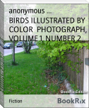 BIRDS ILLUSTRATED BY COLOR  PHOTOGRAPH, VOLUME 1, NUMBER 2