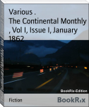 The Continental Monthly , Vol I, Issue I, January 1862