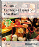 Cambridge Essays on Education