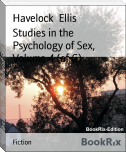 Studies in the Psychology of Sex, Volume 4 (of 6)