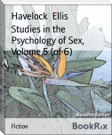 Studies in the Psychology of Sex, Volume 5 (of 6)