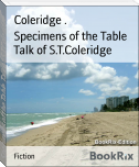 Specimens of the Table Talk of S.T.Coleridge