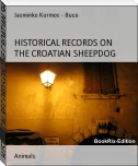 HISTORICAL RECORDS ON THE CROATIAN SHEEPDOG