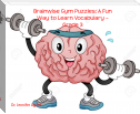 Brainwise Gym Puzzles: A Fun Way to Learn Vocabulary – Grade 3