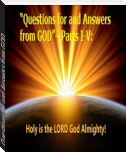 Questions for and Answers from GOD