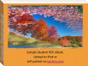 Sample Student eBook