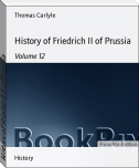 History of Friedrich II of Prussia