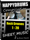 "Happydrums Compilation ""Rock Grooves 1-20"""