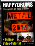 "Happydrums Play-Along Song ""Metal 2015"""