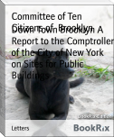 Down Town Brooklyn A Report to the Comptroller of the City of New York on Sites for Public Buildings