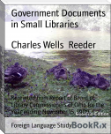 Government Documents in Small Libraries