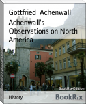 Achenwall's Observations on North America