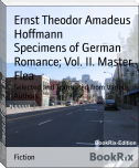 Specimens of German Romance; Vol. II. Master Flea