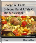 Gideon's Band A Tale Of The Mississippi