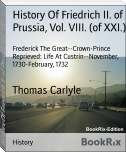 History Of Friedrich II. of Prussia, Vol. VIII. (of XXI.)