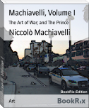 Machiavelli, Volume I