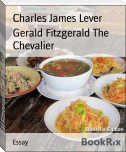 Gerald Fitzgerald The Chevalier