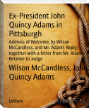 Ex-President John Quincy Adams in Pittsburgh