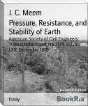 Pressure, Resistance, and Stability of Earth