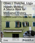 A Source Book for Mediaeval History