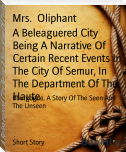 A Beleaguered City Being A Narrative Of Certain Recent Events In The City Of Semur, In The Department Of The Haute