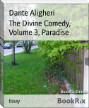 The Divine Comedy, Volume 3, Paradise
