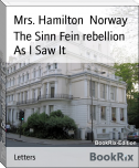 The Sinn Fein rebellion As I Saw It