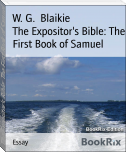 The Expositor's Bible: The First Book of Samuel