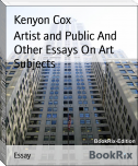 Artist and Public And Other Essays On Art Subjects
