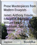 Prose Masterpieces from Modern Essayists