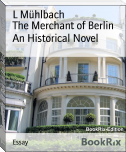 The Merchant of Berlin An Historical Novel