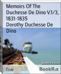 Memoirs Of The Duchesse De Dino V.1/3, 1831-1835